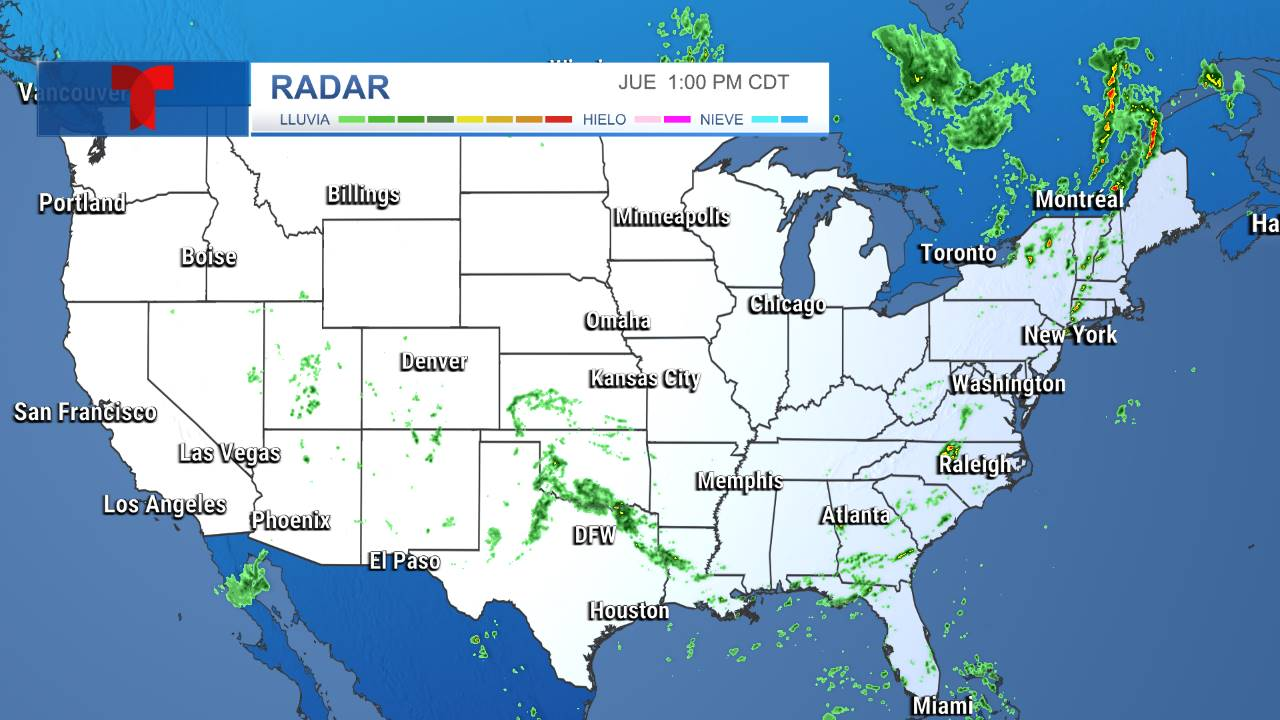 Radar Estados Unidos